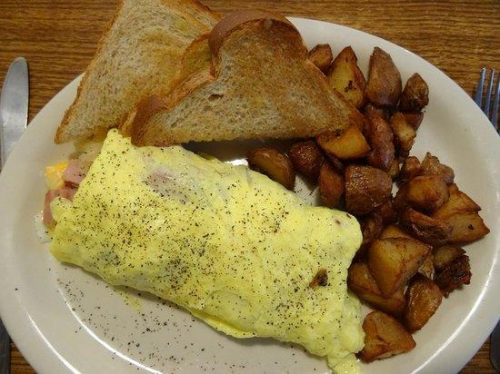 Alva Country Diner: omelet