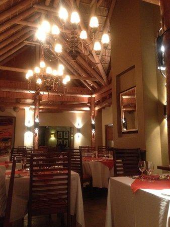 Kuzuko Lodge: Dining area