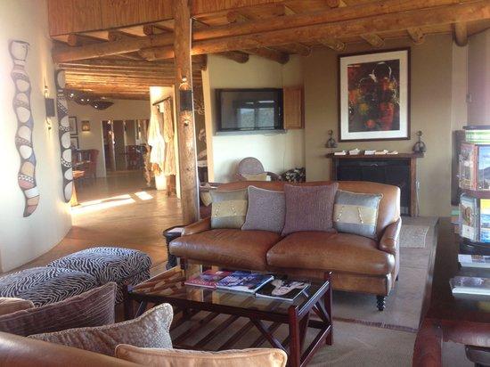Kuzuko Lodge: Lobby