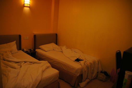 Central Hotel Sandakan: Kleine kamers maar prima