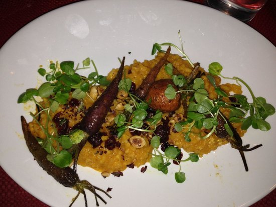 Hodges: Baby carrot risotto