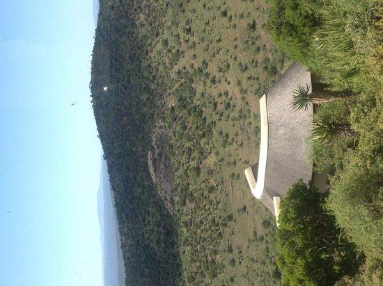 Kuzuko Lodge : View