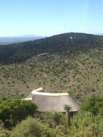Kuzuko Lodge: View