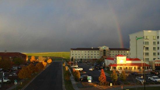 Staybridge Suites Denver International Airport: rainbow from my room