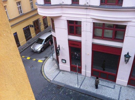 Old Town Square Apartments: View from the window