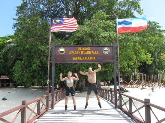 Sipadan Mabul Resort: Sipadan!