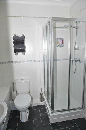 Ashbrook, Bangor Boutique Bed and Breakfast: Deluxe double en suite shower room