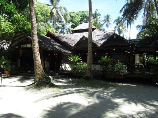 Sipadan Mabul Resort: Ingang resort