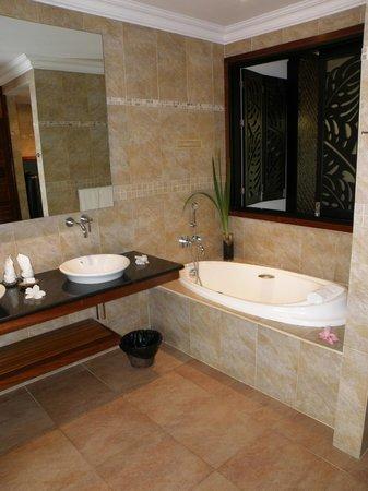 Le Duc de Praslin : badkamer