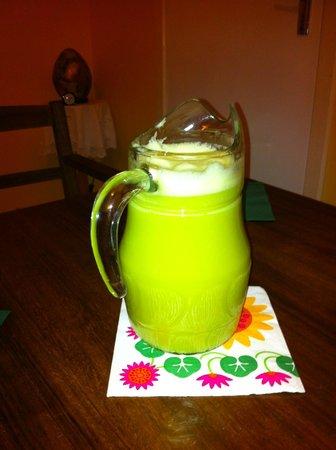 Cloona Health Retreat: juice!