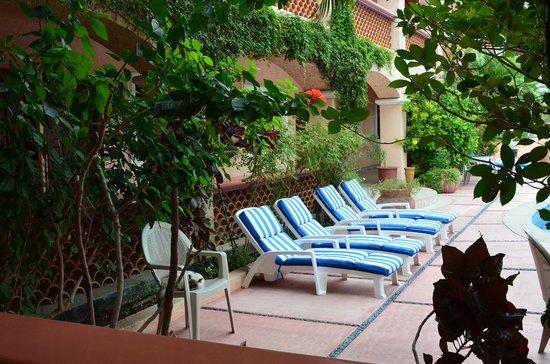 Los Barriles Hotel: Sillas de sol