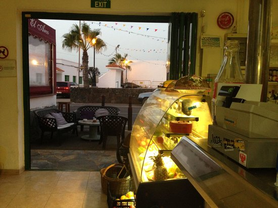 Cafeteria El Arco: El Arco Lajares