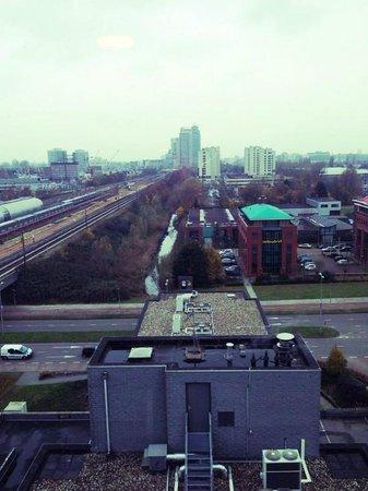 Bastion Hotel Amsterdam Amstel : Uitzicht kamer