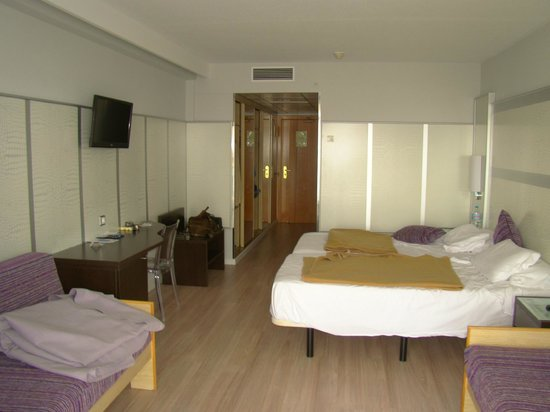 Hotel Flamingo Oasis: spacious room