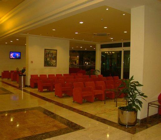 Hotel Flamingo Oasis: tv section
