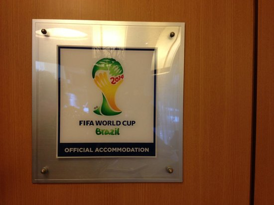 Windsor Astúrias Hotel : Official FIFA Accommodation