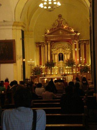 Hotel Museo Spa Casa Santo Domingo: Iglesia de la Merced