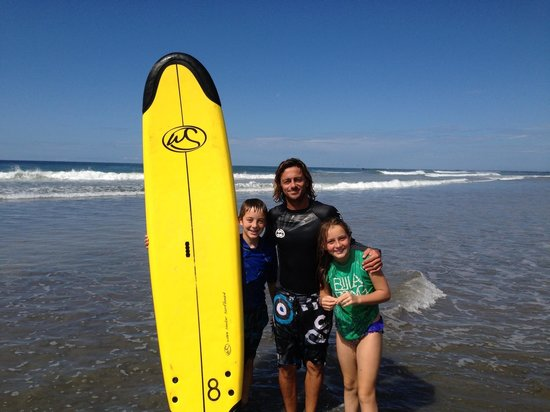 Hotel Playa Negra: Definitely take surfing lessons with Manu!