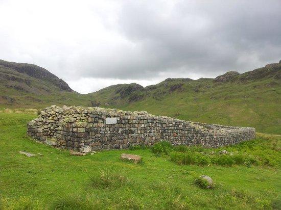 Hardknott Roman Fort: Fort at Hardknott