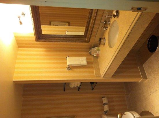 Hotel Commonwealth: Ванная в порядке, очень качественные шампуни в нагрузку.