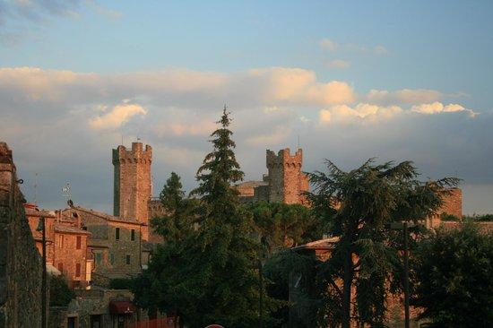 Ristorante Boccon DiVino: Castle of Montalcino