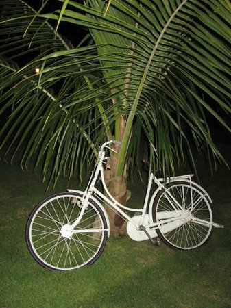 Sugar Beach Resort & Spa: Emporium´s bike ?