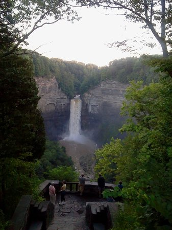 Taughannock Falls State Park: View from upper overlook