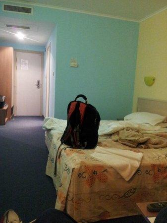 Hotel Aqua Bourgas: Finally a room with good light