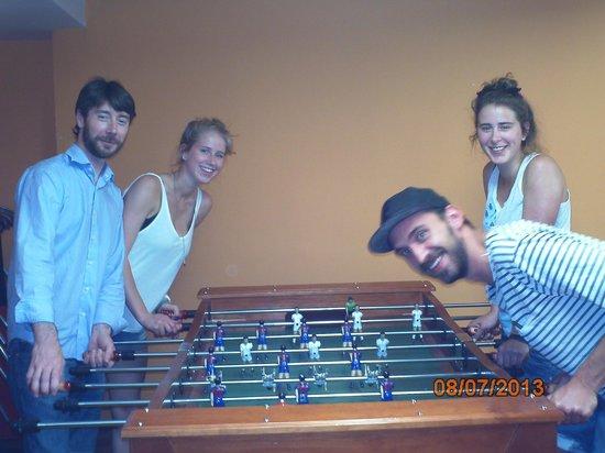 Erasmus Home: futbolin