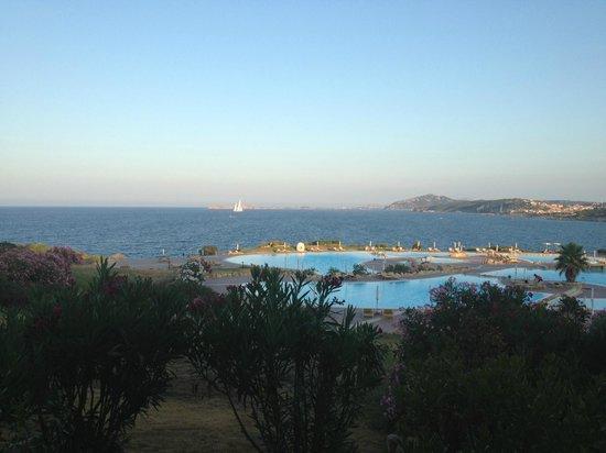 Colonna Resort: Vista do apartamento