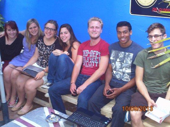 Erasmus Home: amigos