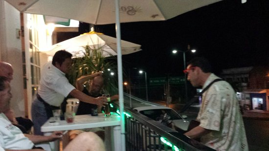 Tequilaville: Fun evening on the patio