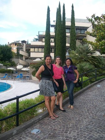 NH Roma Villa Carpegna: No Jardim do Hotel