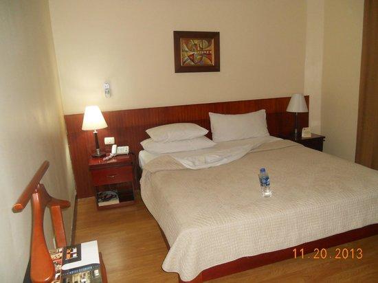 Hotel City Plaza: habitación