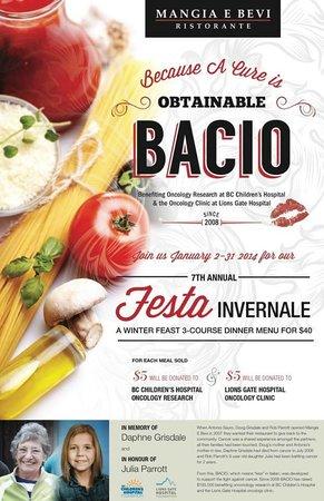 Mangia E Bevi: BACIO - Fest ivernale 2014