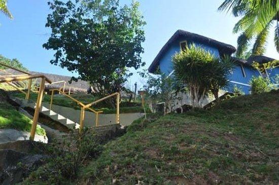 Hotel Morro De Sao Paulo: Muitas Escadas