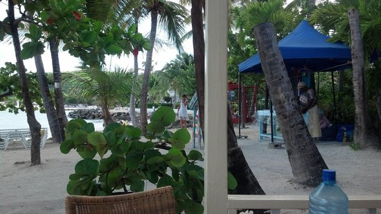 Siboney Beach Club: View from breakfast