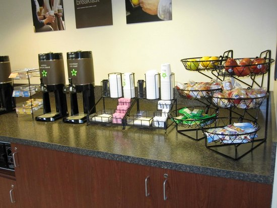 "Extended Stay America - Kansas City - Overland Park - Metcalf: ""Grab-And-Go"" Breakfast was fairly basic, but pretty good coffee"