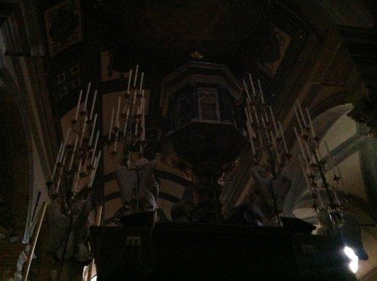 Duomo di Cortona: il retro dell'altare