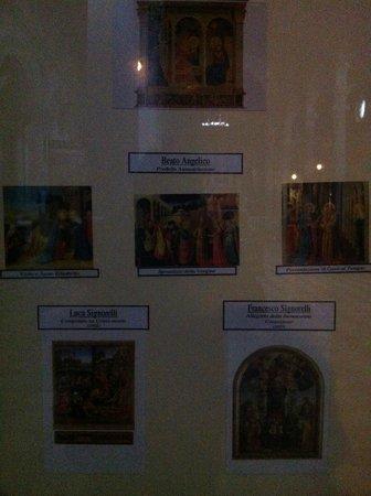 Duomo di Cortona: quadri piu' famosi esposti nella curia