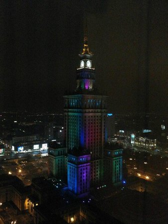InterContinental Hotel Warsaw: View from room