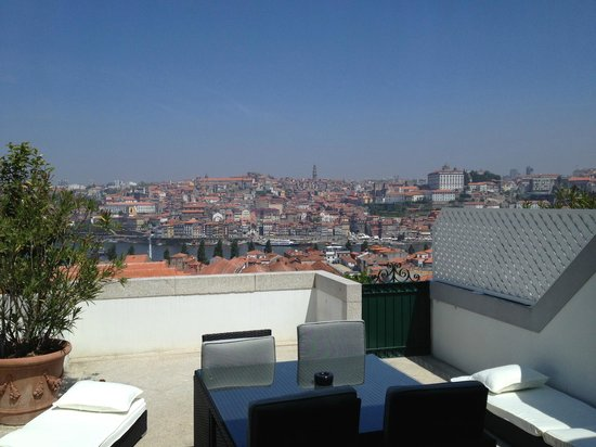 The Yeatman : Private terrace
