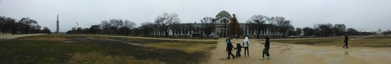 Smithsonian Institution Buidling: Panoramic view