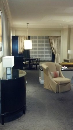 The Palazzo Resort Hotel Casino: Reception/Living room