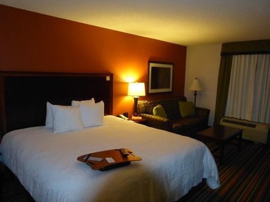 Hampton Inn Winston-Salem - I-40 / Hanes Mall: Our room