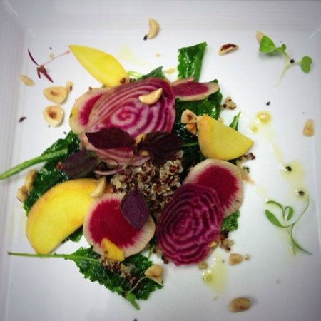 The Beverley Hotel: beet salad