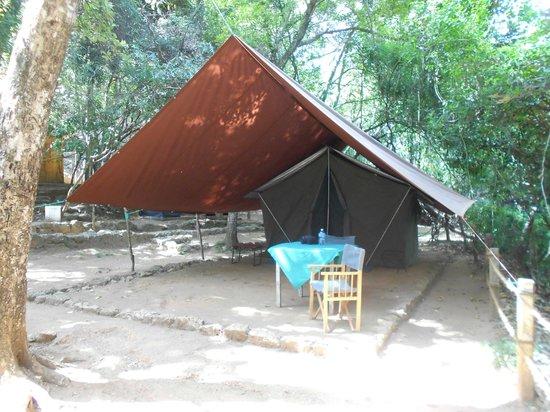 River Garden Resort & Camp Site: Heerlijk basic