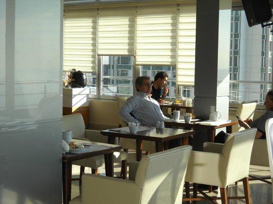 CVK Hotels Taksim : Breakfast room