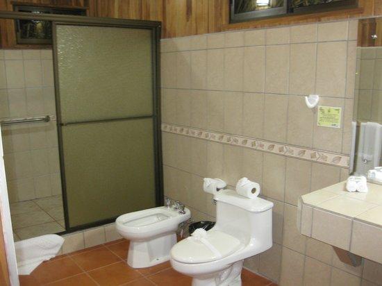 Hotel Lomas del Volcan: Baño