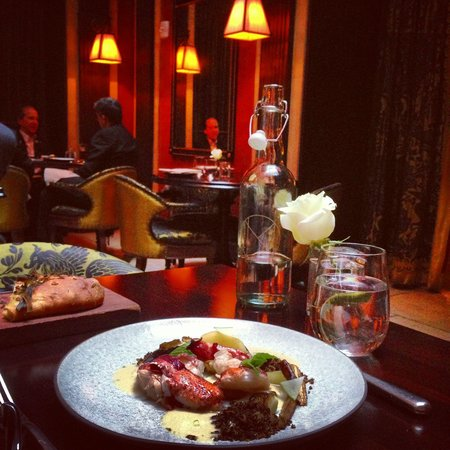 The NoMad Hotel: Great food with beautiful environment at the restaurant!